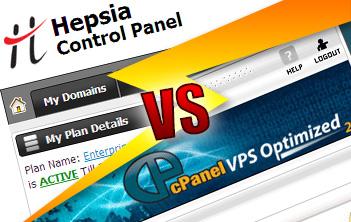 Hepsia Control Panel versus cPanel