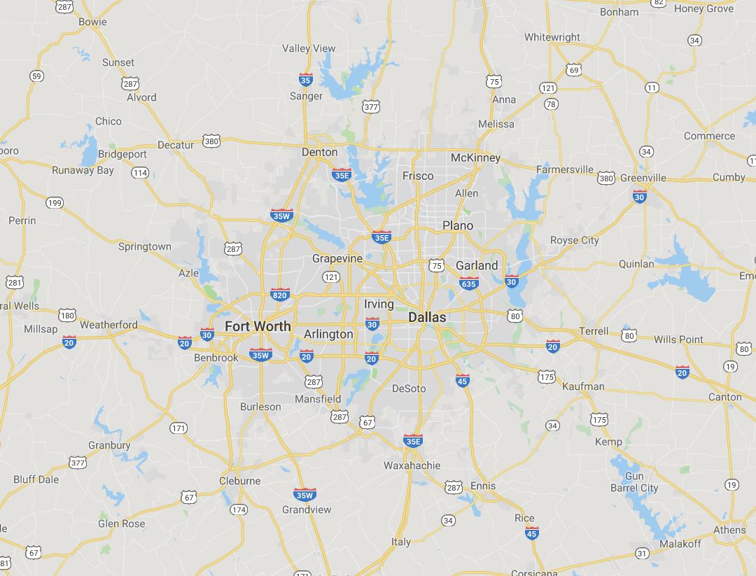 Hosting in Dallas - Fort Worth Texas