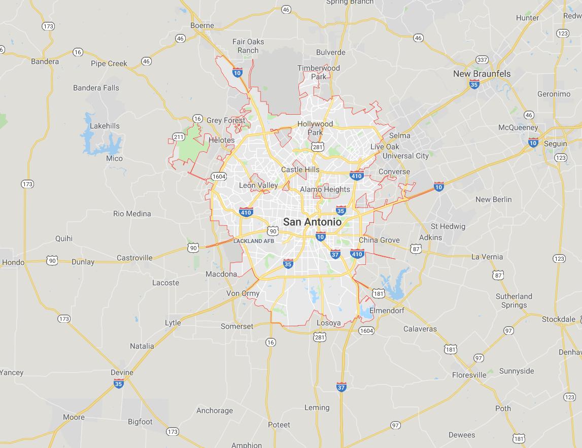 Hosting in San Antonio Texas